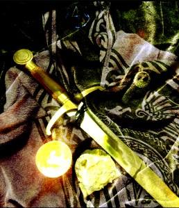 Gawain for Poem Shiny Green ace
