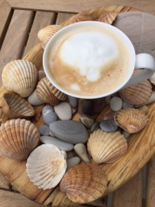 Coffee too much shells