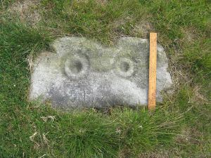 The fabled 'Owl Stone' - a prehistoric carving..long since gone