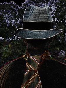 Nine Deadly 25 Backwards hat head