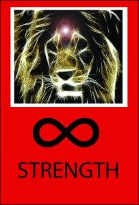 Nine Deadly 45 Tarot Strength