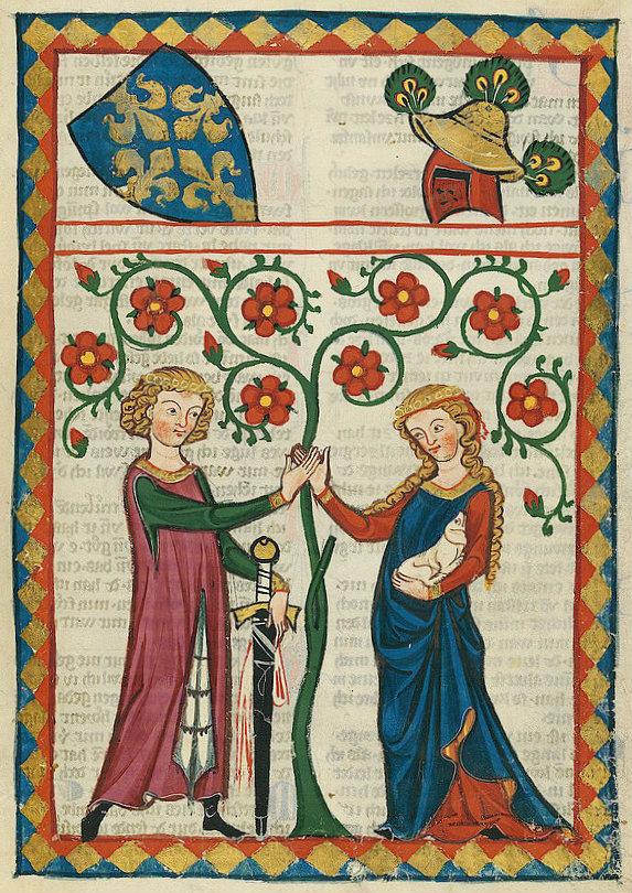 Codex_Manesse_Bernger_von_Horheim