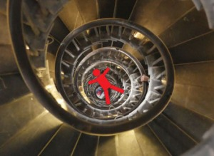 Best spiral stairs+Red1 manAA