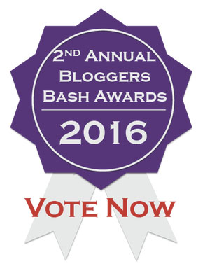 Blogger's Bash 2016 awards vote logo