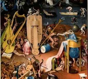 Hieronymous Bosche Garden of Earthly Delights