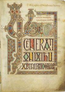 Lindisfarne Gospels cover