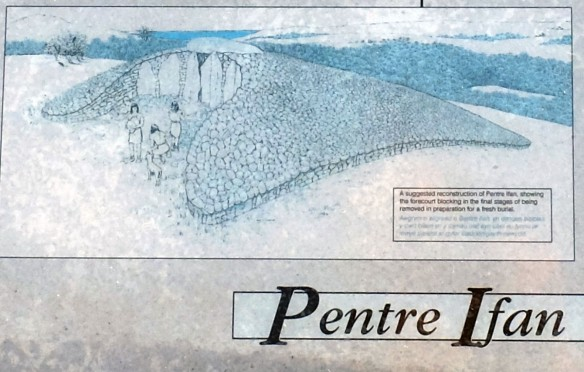 Pentre Ifan schematic from board