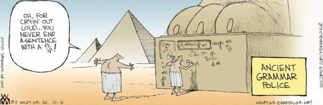 cartoon Grammar