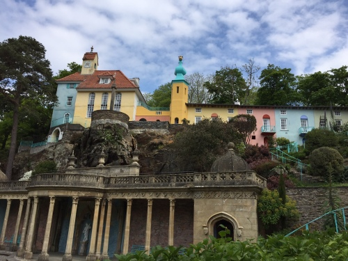 Portmeirion grand terrace