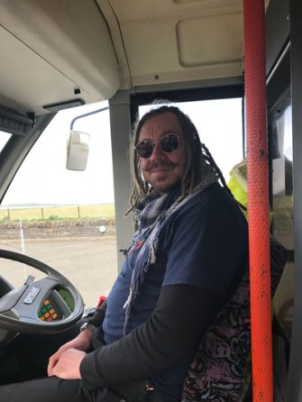 Orkney 11Jun18 -Bus driver