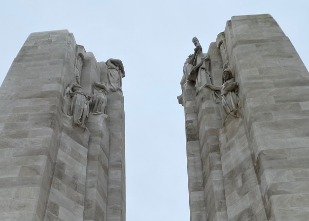 This image has an empty alt attribute; its file name is vimy-ridge-top-of-pylons-from-down-ridge2-1.jpg