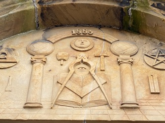 Masonic frieze Kirkwall - 1