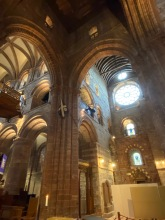 St Magnus Kirkwall colour arches full - 1