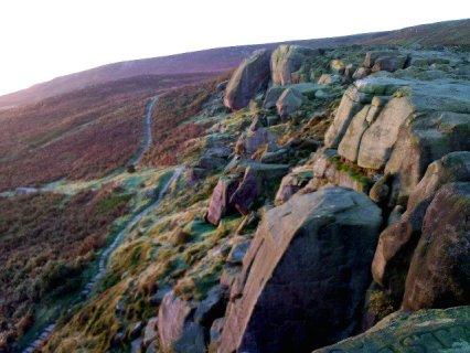 Dawn over the Cow and Calf